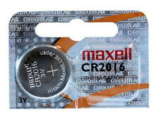 Maxell CR2016 3V Pila Batteria Cell Coin replace CR BR DL ECR KCR LM ML 2016