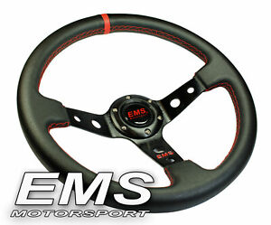 EMS Motorsport Lenkrad Rallyelenkrad passend für OMP SPARCO Nabe 350mm/65mm L65r