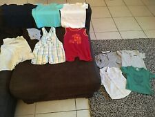 Lot 11 Vêtements Zara Kidkanaï Kiabi Absorba Obaïbi Bébé Garçon 18 24 Mois