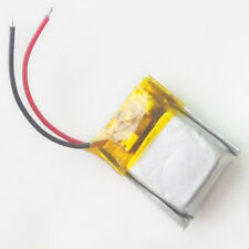3.7V 25mAh LiPo polymer Battery rechargeable For mp3 Bluetooth redio pen 401015