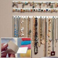 New 9Pcs Jewelry Hook Wall Hanger Holders Stand Organizer Necklace Bracele.yullu