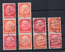Dr-Zusdr. S110/13 All Combinations Kpl Postmarked (A0564