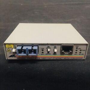 Free Post Allied Telesyn AT-MC103XL Single Mode Fiber Fast Enet Media Converter
