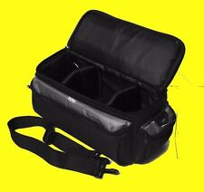LARGE SIZE PRO CARRYING CASE BAG to> DIGITAL CAMERA CAMCORDER HANDYCAM 13X5X7