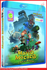 MARCO MACACO L'île aux pirates film animation  - BLU-RAY -