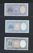 Egypte Lot de 3 billets différents  en état NEUF   Lot N° 3