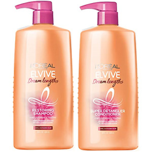L'Oreal Elvive Paris Dream Lengths Shampoo and Conditioner for Long, Damaged 28