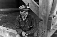 """1935 Kentucky Coal Miner, Jenkins, KY Vintage Photograph  11"""" x 17"""" Reprint"""