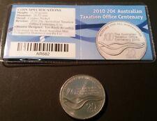 Australia Australia & Oceania Stamp Cover # N0280 Australia 1 Dollar 2010 Lunar Year Of The Tiger In Offic