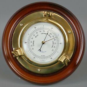 Vintage Weathermaster Porthole Style Wall Barometer      |39