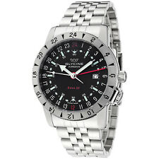 Glycine Men's 3887 Base 22 GMT/Purist Automatic 42mm Watch - Choice of Color