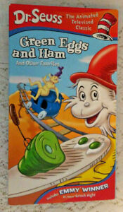 VHS Doctor Dr Seuss Green Eggs and Ham Other Favorites Halloween is Grinch Night