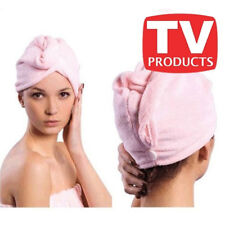 PER ASCIUGARE CUFFIA I WRAP HAIR CAPELLI ASCIUGAMANO!!OCCASIONE!! VISTO IN TV km