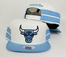 Mitchell & Ness NBA Sky Blue Chicago Bulls snapback Hat Cap