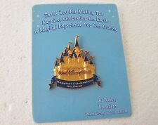 *~* DISNEY WDW CAST EXCLUSIVE HAPPIEST CELEBRATION ON EARTH CASTLE PIN NIP *~*