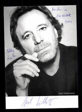 Gerd Silberbauer Autogrammkarte Original Signiert # BC 61273