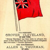1888 Democratic Nomination Grover Cleveland President Allen Thurman Politics C6