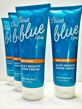 True Blue Spa Shave The Day Silky Smooth Shave Cream Shea Butter 7.5 oz, New x 4