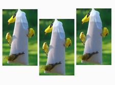 "(3) Woodlink NASOCK Audubon Heavy Duty 11"" Nyjer Thistle Seed 1 lb Sock Feeder"