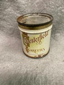 VINTAGE CHESTERFIELD CIGARETTE TIN HELD 50 CIGARETTES