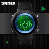 SKMEI Men Outdoor Sports Watch 50m Waterproof Male LED Digital Wristwatch 1497