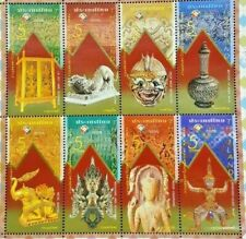 Collection of ancient art of Thailand in the world postage fair year 2013