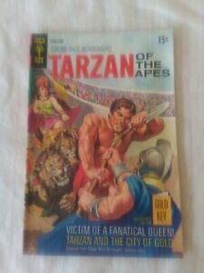 Edgar Rice Burroughs Tarzan of the Apes # 186 August (Gold Key 1969) FN+