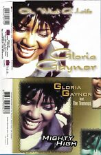 GLORIA GAYNOR - Mighty High + Oh What A Life (2 CDSingles)