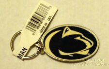 Penn State Nittany Lions Pewter Medallion Keychain Key chain University of