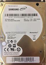 "NEU SAMSUNG SPINPOINT M9T 2TB 2000GB PS3 PS4 ST2000LM003 SATA3 2.5"" FESTPLATTE"