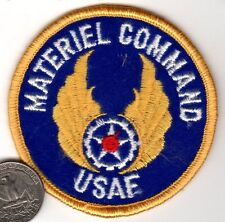US Air Force AIR FORCE MATERIEL COMMAND Squadron Patch in color fighter wing