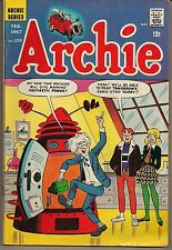 ARCHIE #170 FEB/67 BETTY VERONICA ETHEL REGGIE MR. LODGE LUCEY & DECARLO ART FN