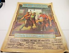 Vtg  E.T. Paull Sheet Music 1905 The Jolly Blacksmiths March TwoStep