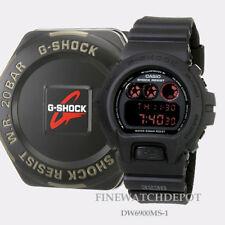Authentic Casio G-Shock Digital Black Military Men's Watch DW6900MS-1