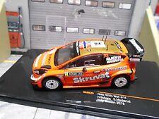 FORD Fiesta NEW WRC Rallye Schweden Swede 2018 #14 Solberg Skruvat IXO NEW 1:43