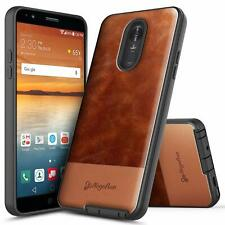 For LG Stylo 4 Plus Case Full Coverage Cover Brown NEW