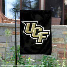 UCF Knights Black Garden Flag and Yard Banner