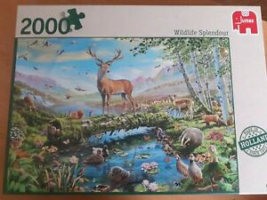 Jigsaw puzzle 2000 piece WILDLIFE SPLENDOUR jumbo