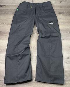 Volcom Transition Snowboard Pants 3000mm/1000gm Size L Large Black