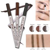 Patented Microblading Eyebrow Tatto Pen Waterproof Fork Tip Sketch Makeup