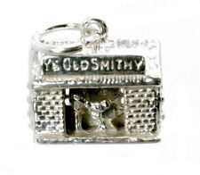 STERLING SILVER MOVING BLACKSMITH CHARM