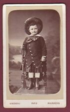 CDV  SIMONEAU BOURGEOIS - 250813 - enfant fusil carabine chasse
