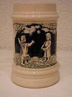 alter Kinderkrug Children-Mug  0,25 Liter ballspielende Kinder gemarkt