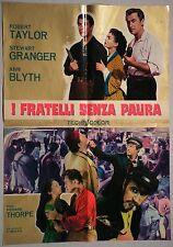 Soggettone I FRATELLI SENZA PAURA 1964 ROBERT TAYLOR, STEWART GRANGER, ANN BLYTH