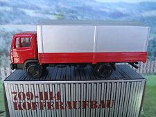 1/50 NZG (Germany) Mercedes-Benz truck