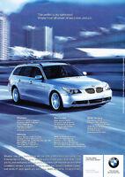 2005 BMW 530xi Sport Wagon -  Classic Vintage Advertisement Ad D12