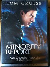 TOM CRUISE MINORITY REPORT ~ 2002 STEVEN SPIELBERG Sci-Fi Película US Región 1