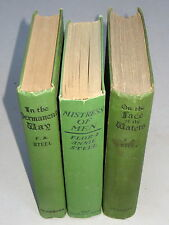 Flora Annie Steel 3 Books - In The Permanent Way (1898) British India set Punjab