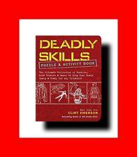☆BOOK:100 DEADLY SKILLS PUZZLE EDITION-SURVIVAL ED.NAVY SEAL GUIDE-SURVIVE WILD☆