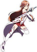 "6/"" x 4/"" Asuna Adult 23 HQ Anime Sticker // Decal large Weatherproof"
